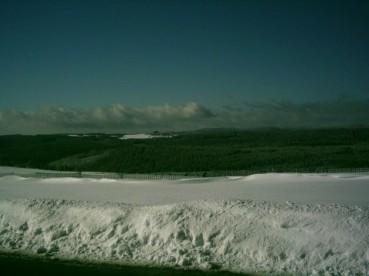 Winterlandschaft Rennsteig Thüringen