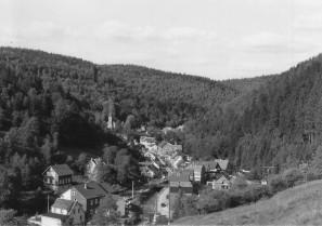 altes Ortsbild Katzhütte Oelze