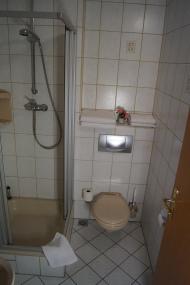 Duschbad Pension zum Ritter Doppelzimmer